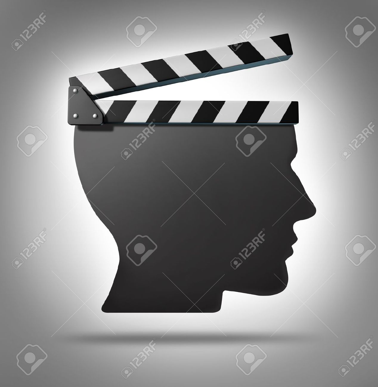 Life direction and human guidance as a symbol of a movie equipment life direction and human guidance as a symbol of a movie equipment clapboard shaped as a biocorpaavc