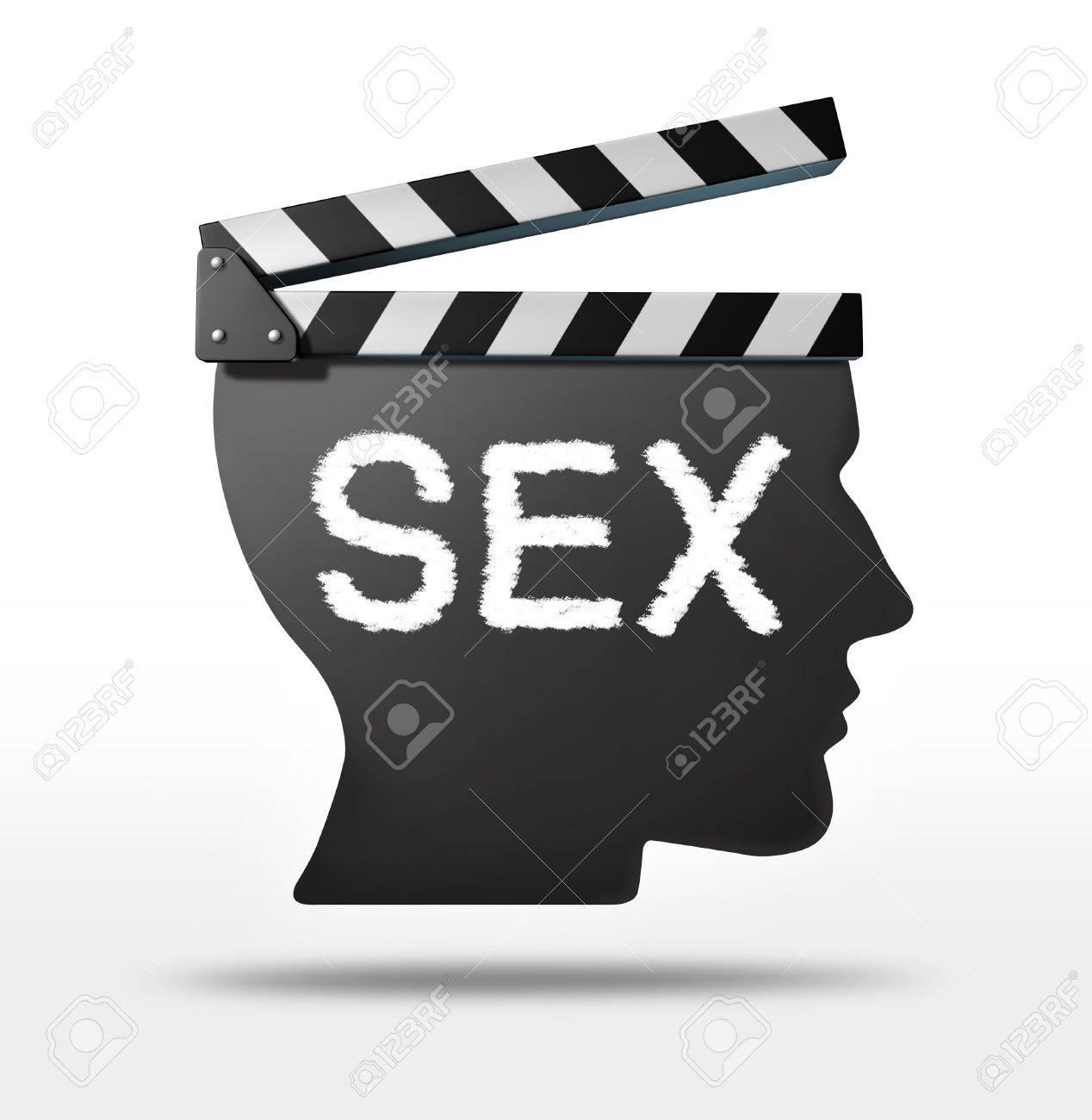 Sex Filme Und Erotikfilm-Konzept Mit Einem Film Ausrüstung Schindel ...