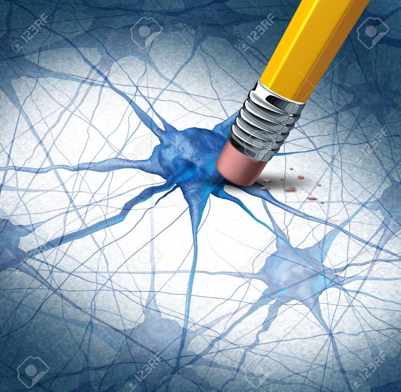 Brain Disease Demenz Probleme Mit Dem Verlust Der Memory-Funktion ...
