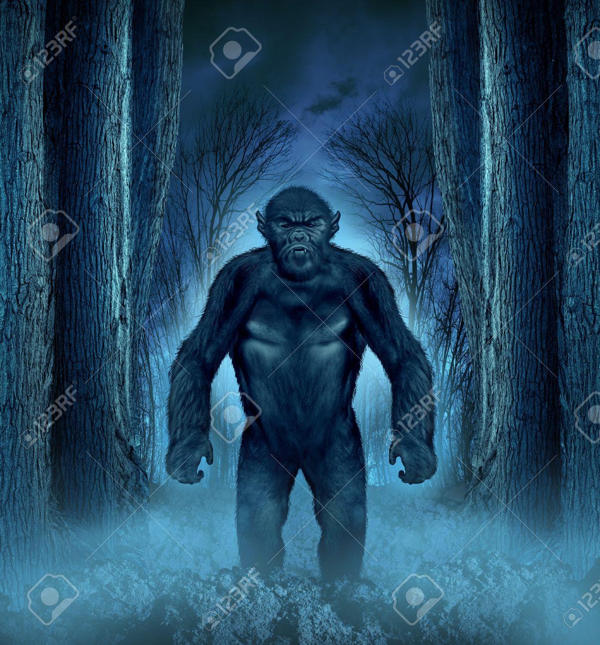 of haunted woods animal  Creepy Woods Moon