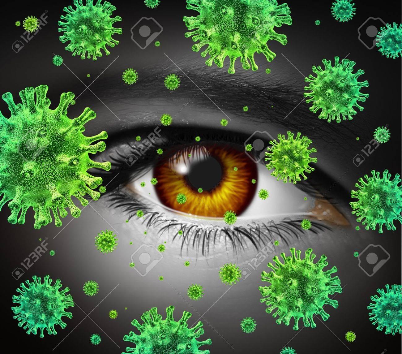 infección ocular bacteriana es contagiosa