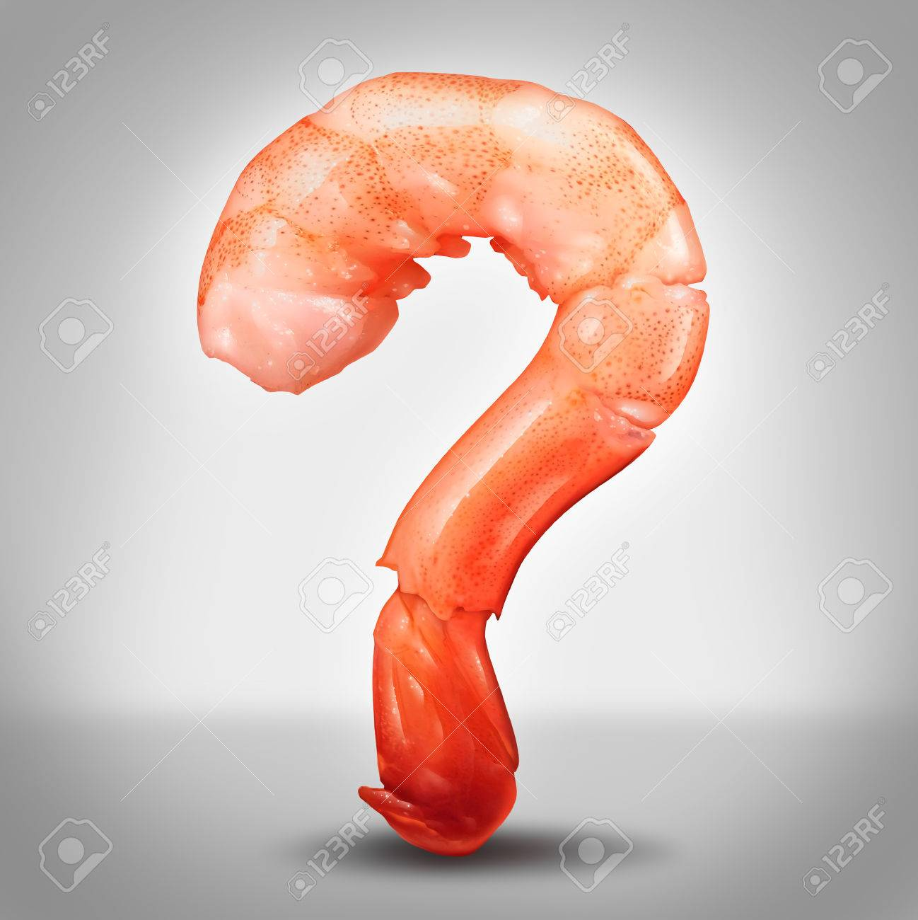 food safety icon stock photos pictures royalty food safety food safety icon seafood questions concept as a shrimp in a close up view in