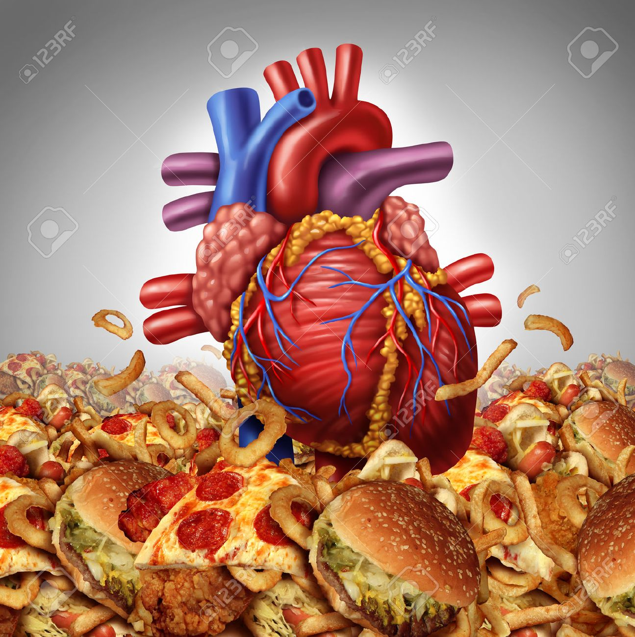 Heart disease risk symbol and health care and nutrition concept heart disease risk symbol and health care and nutrition concept as a human cardiovascular organ drowning biocorpaavc