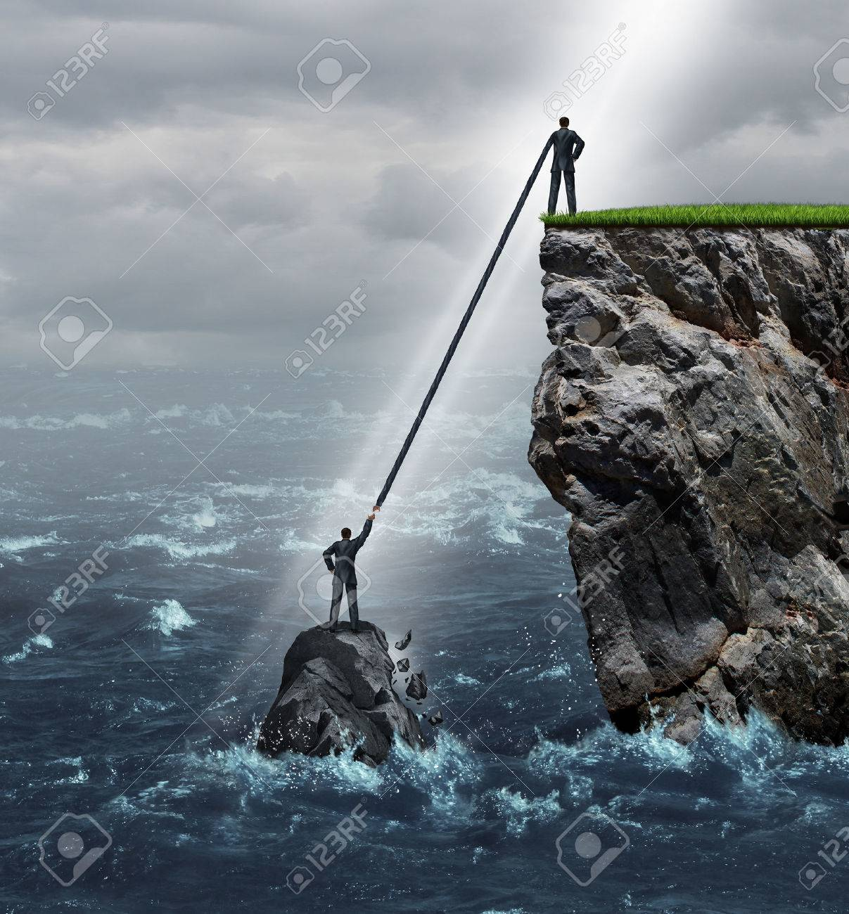 weakness images stock pictures royalty weakness photos and weakness embrace opportunity business concept as a person in a crisis stranded in the ocean