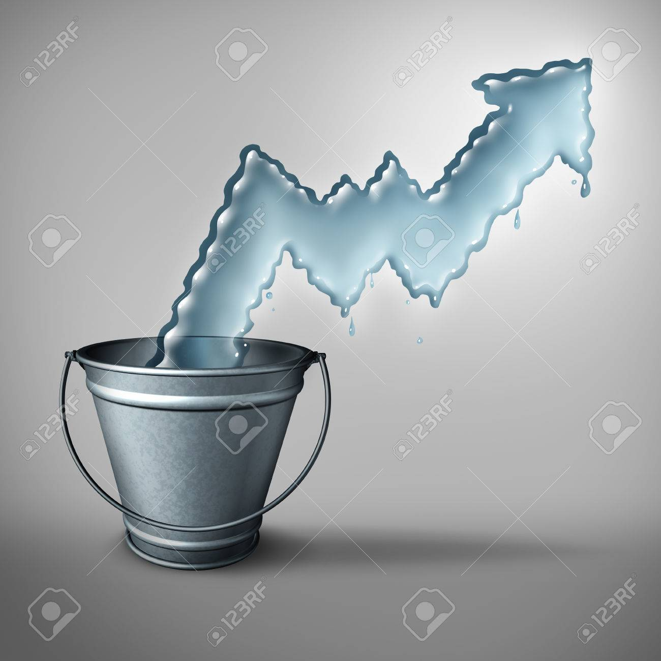 Water Demand Concept And Clean Drinking Freshwater Scarcity Crisis