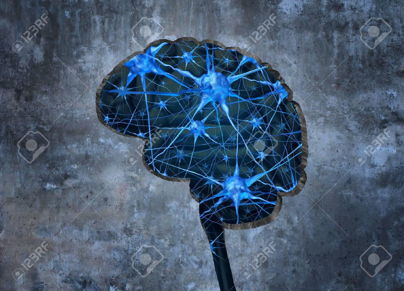 Innerhalb Menschlichen Neurologie Forschungskonzept Der Prüfung Der ...