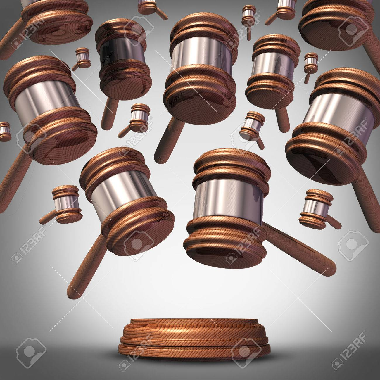 Class action lawsuit concept as a plaintiff group represented class action lawsuit concept as a plaintiff group represented by many judge mallets or gavel icons biocorpaavc Choice Image