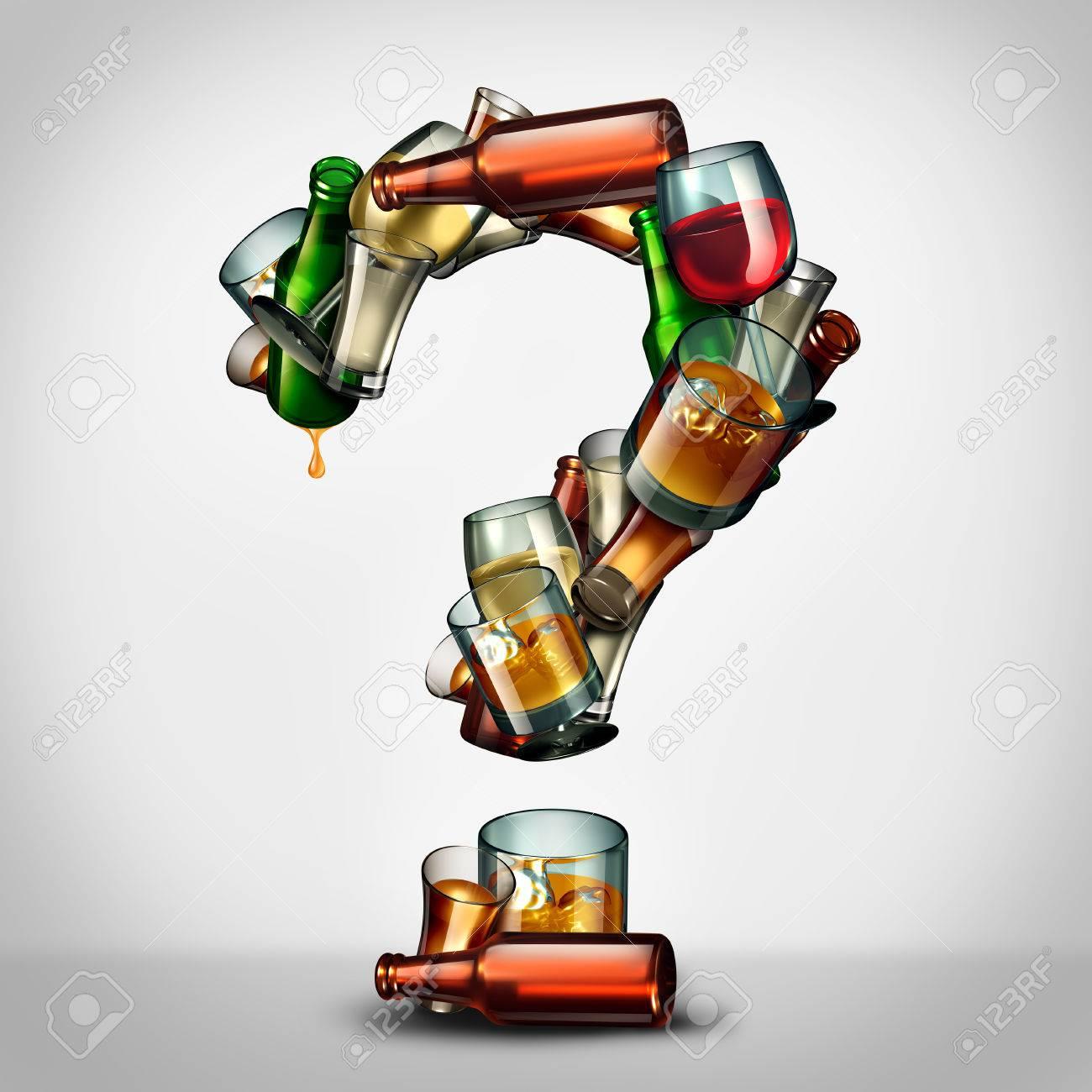 Alcohol questions and alcoholism information concept as a group alcohol questions and alcoholism information concept as a group of beer wine and hard liquor glasses buycottarizona