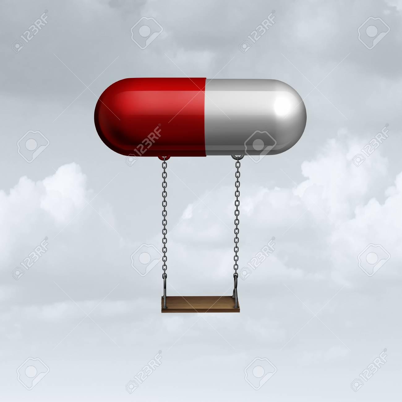 Child Medicine Concept As A Medical Symbol For Children Medication