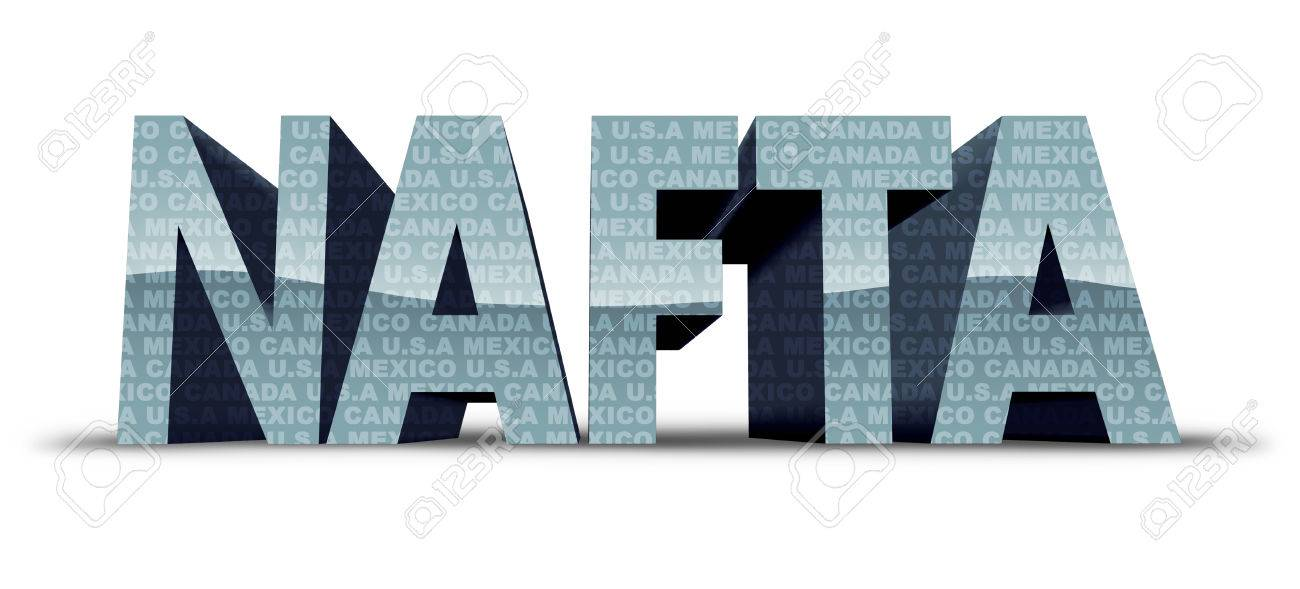 North American Free Trade Agreement Or Nafta With United States
