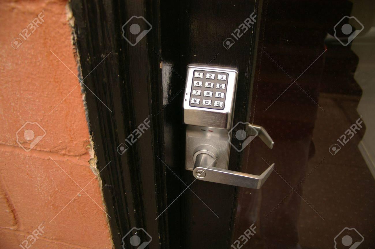 Electronic Door Lock Stock Photo - 5260771