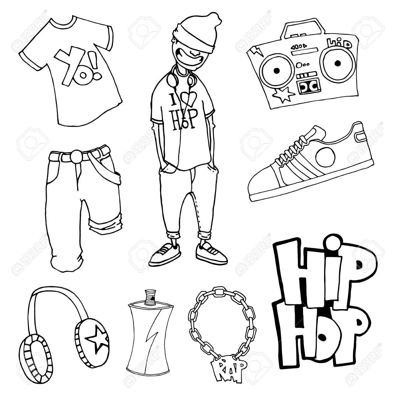 Magnífico Hip Hop Para Colorear Fotos - Ideas Para Colorear ...