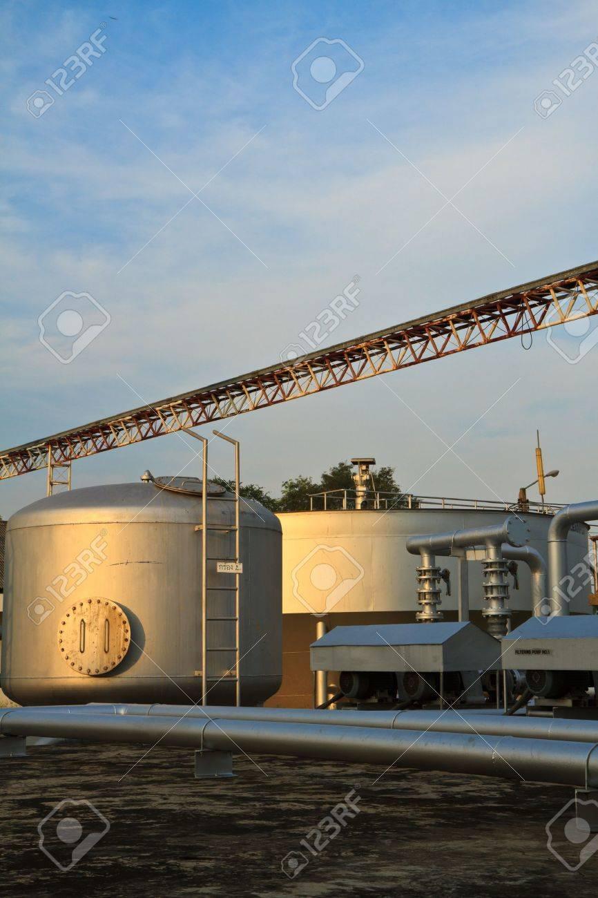 A sewage treatment plant Stock Photo - 13244262