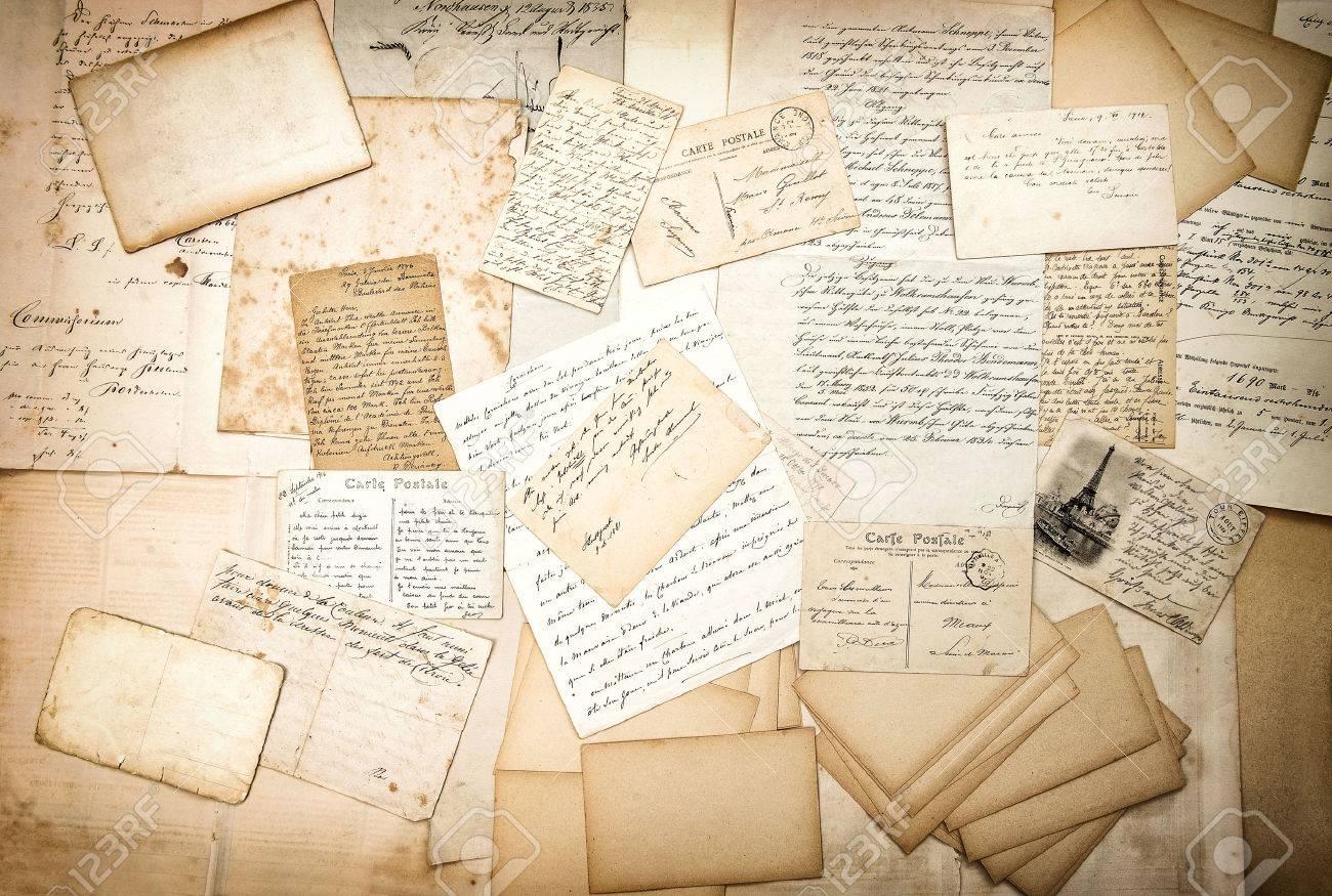 30 Old Paper Textures - t 34