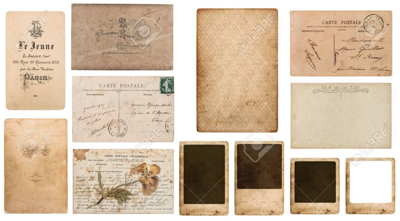 Antike Franzosisch Carte De Visite Postkarte Postale Fotorahmen Karton Standard Bild