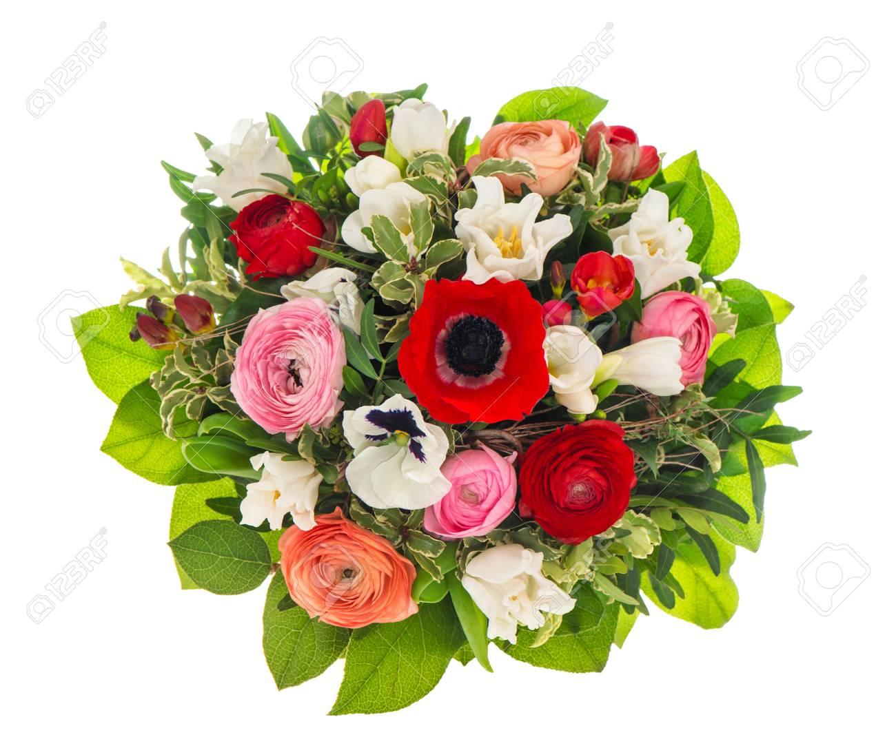 Bouquet De Fleurs De Printemps Pour Pâques Anniversaire Mariage Fête Des Mères Décoration De Vacances Colorée