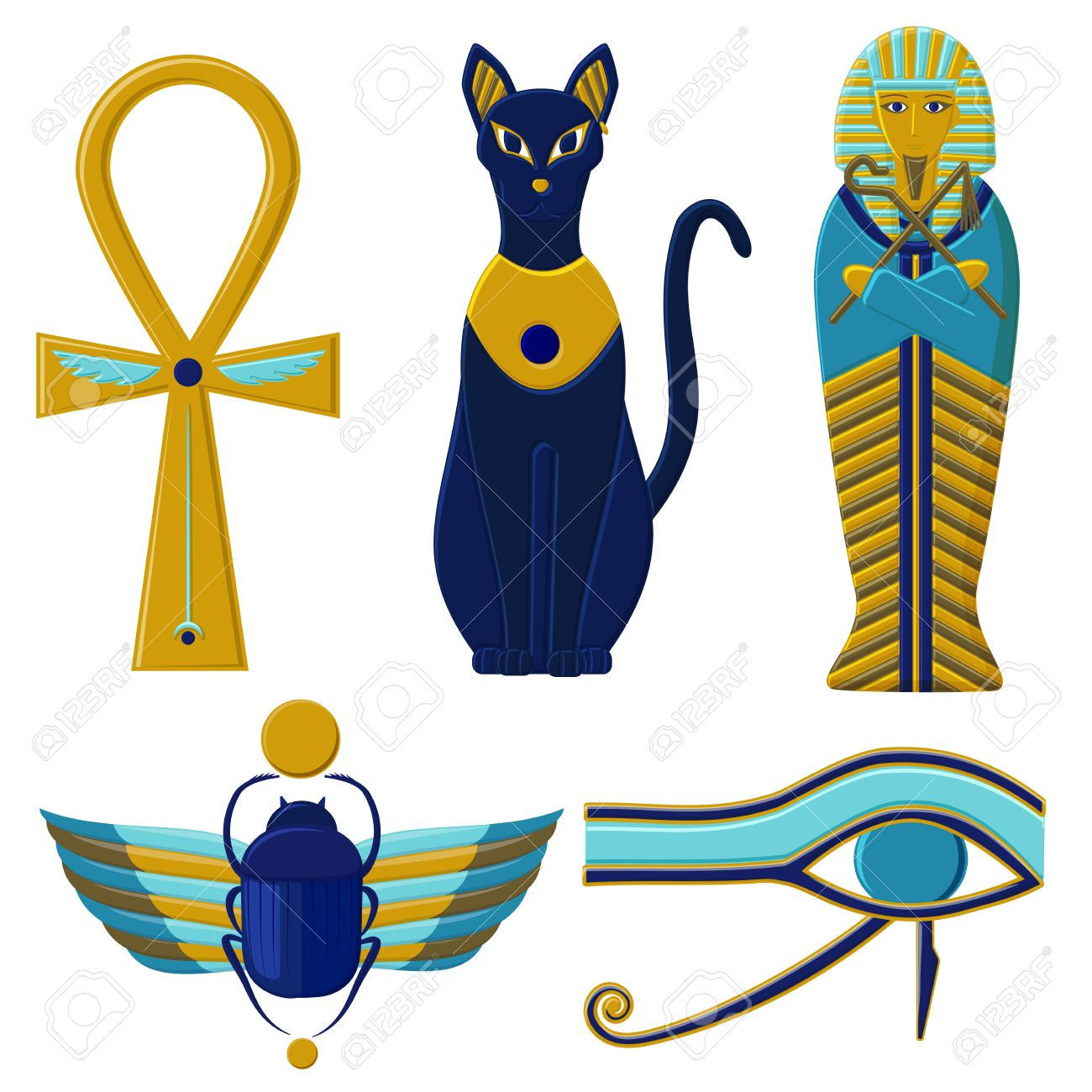 Set of egyptian signs and symbols cultures of ancient egypt set of egyptian signs and symbols cultures of ancient egypt stock vector 75743177 biocorpaavc