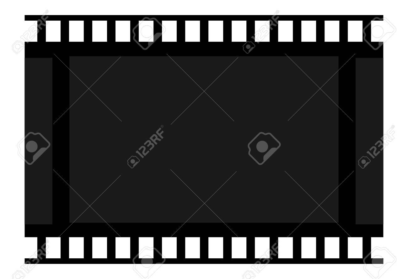 Película De Marco. Cuadro En Blanco.Icon Celuloide. Signo De ...
