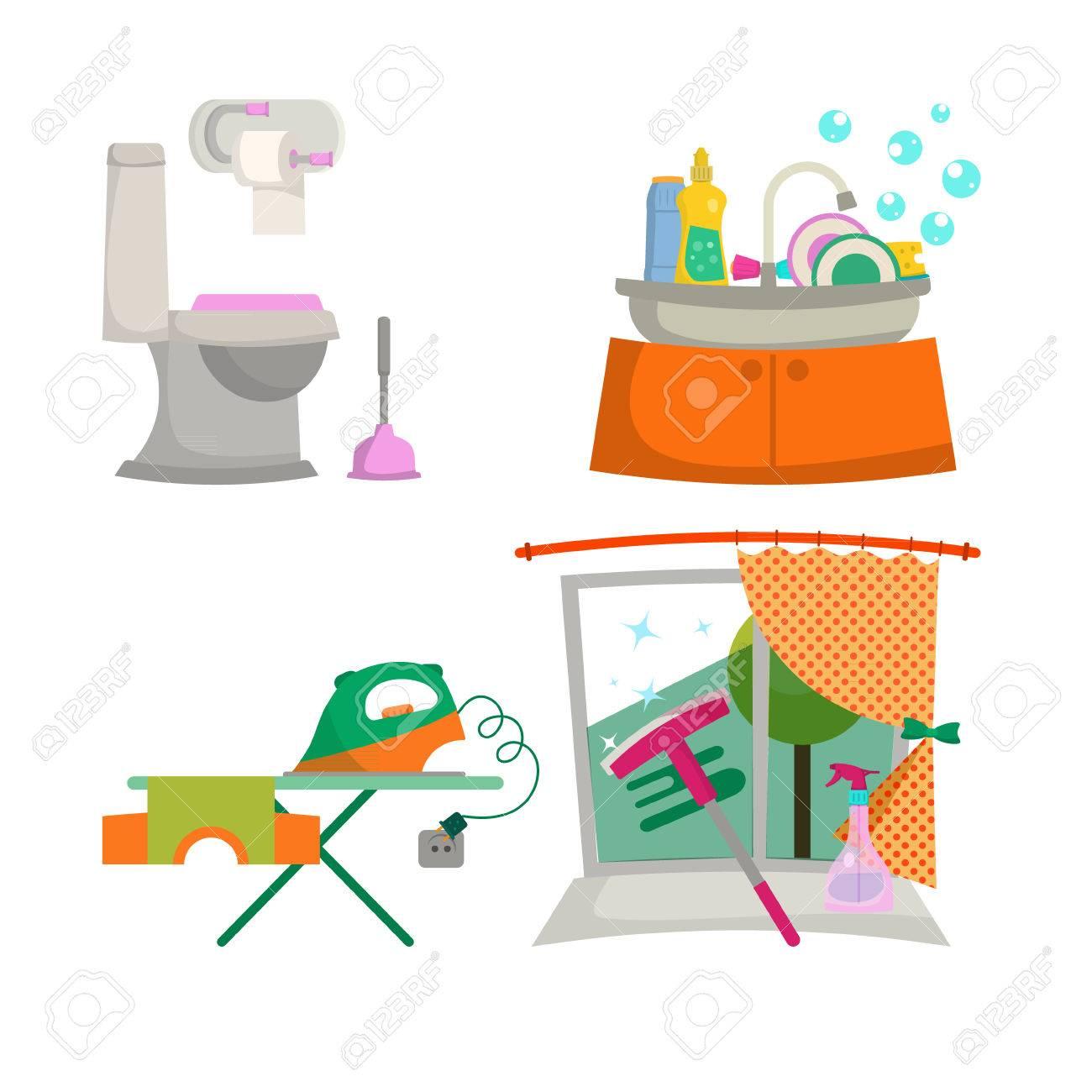 La Limpieza De La Casa. Debido A Nuestra Poca Aficin A La Limpieza ...