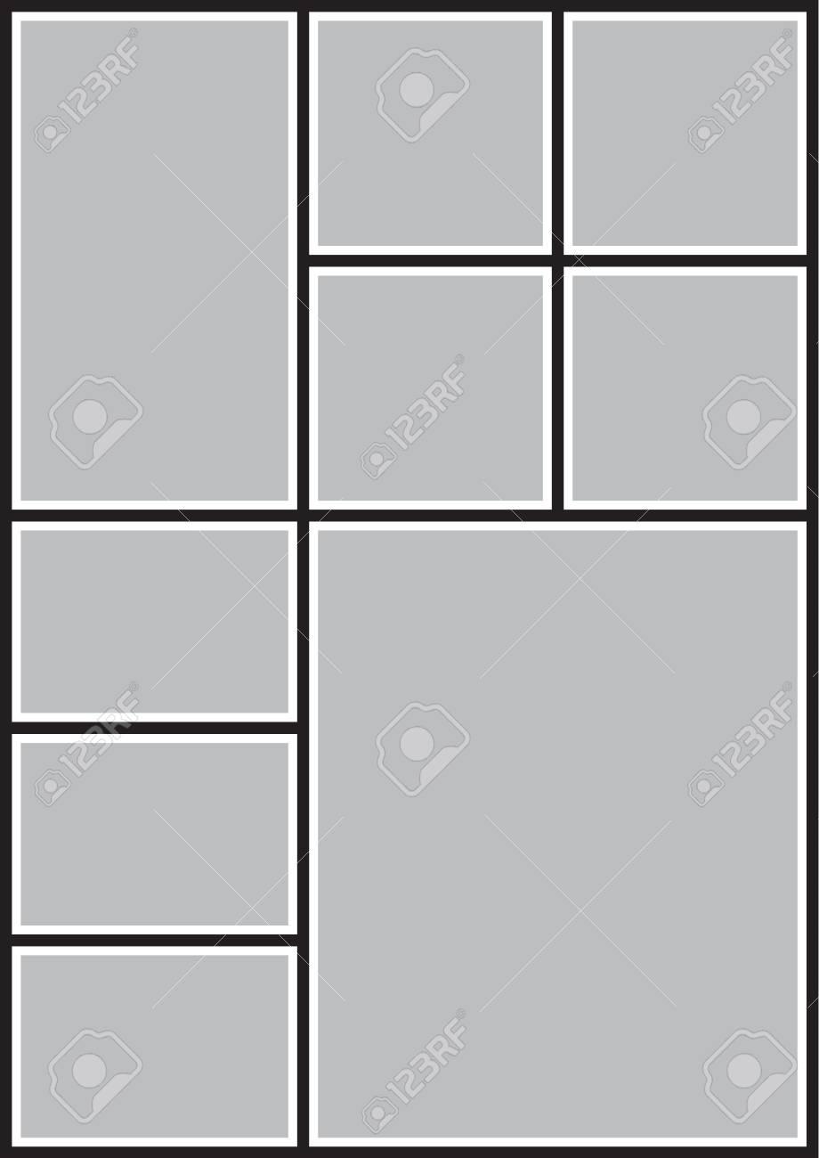 Fantástico Marcos Collage Negro Fotos - Ideas Personalizadas de ...