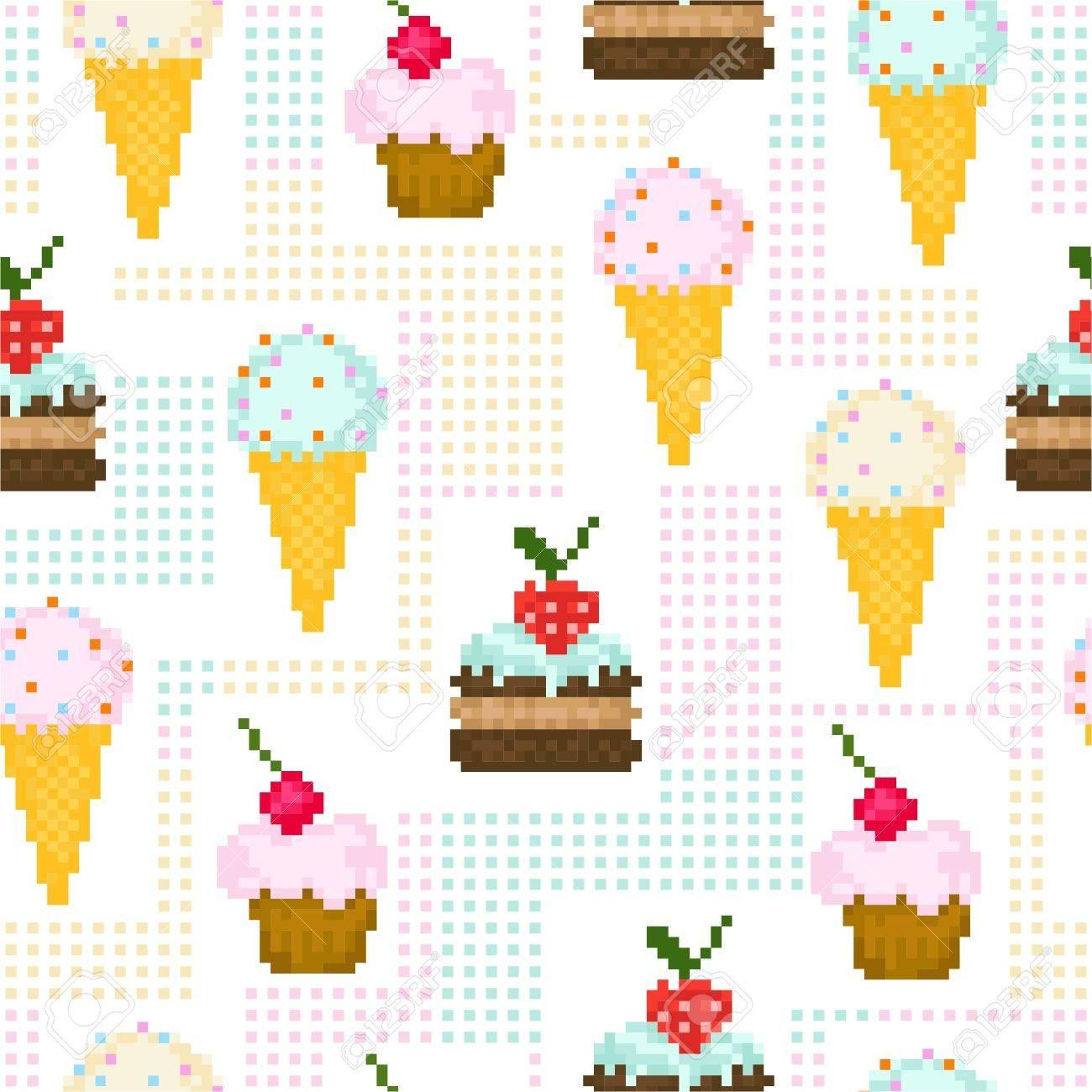 pixel art bonbon
