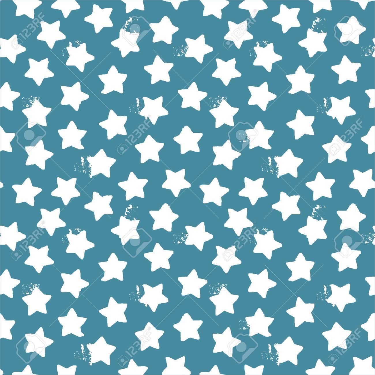 Patrón Transparente De Estrellas Y Los Puntos De Los Textiles ...