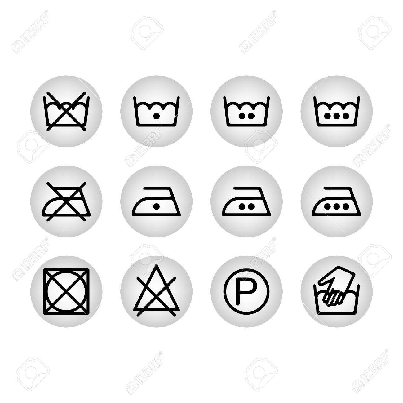 Instruction laundry dry cleaning care icons washing symbols for instruction laundry dry cleaning care icons washing symbols for design stock vector 39566911 buycottarizona