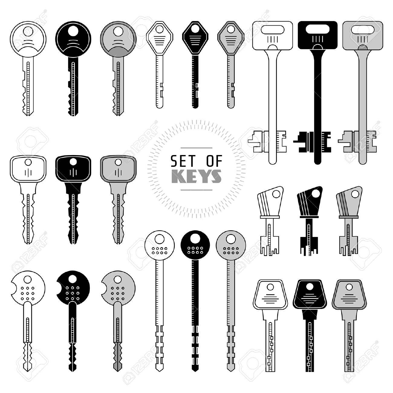 types of keys