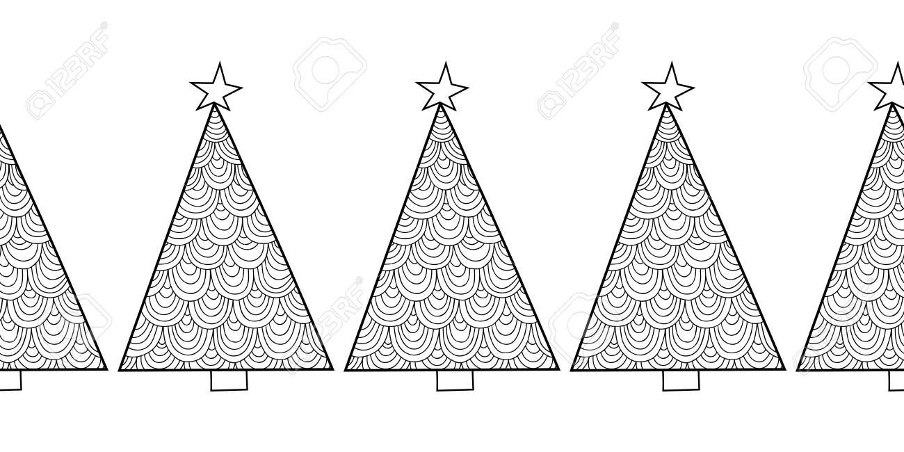 Arbol De Invierno Para Colorear. Invierno Inteligente Navidad ...