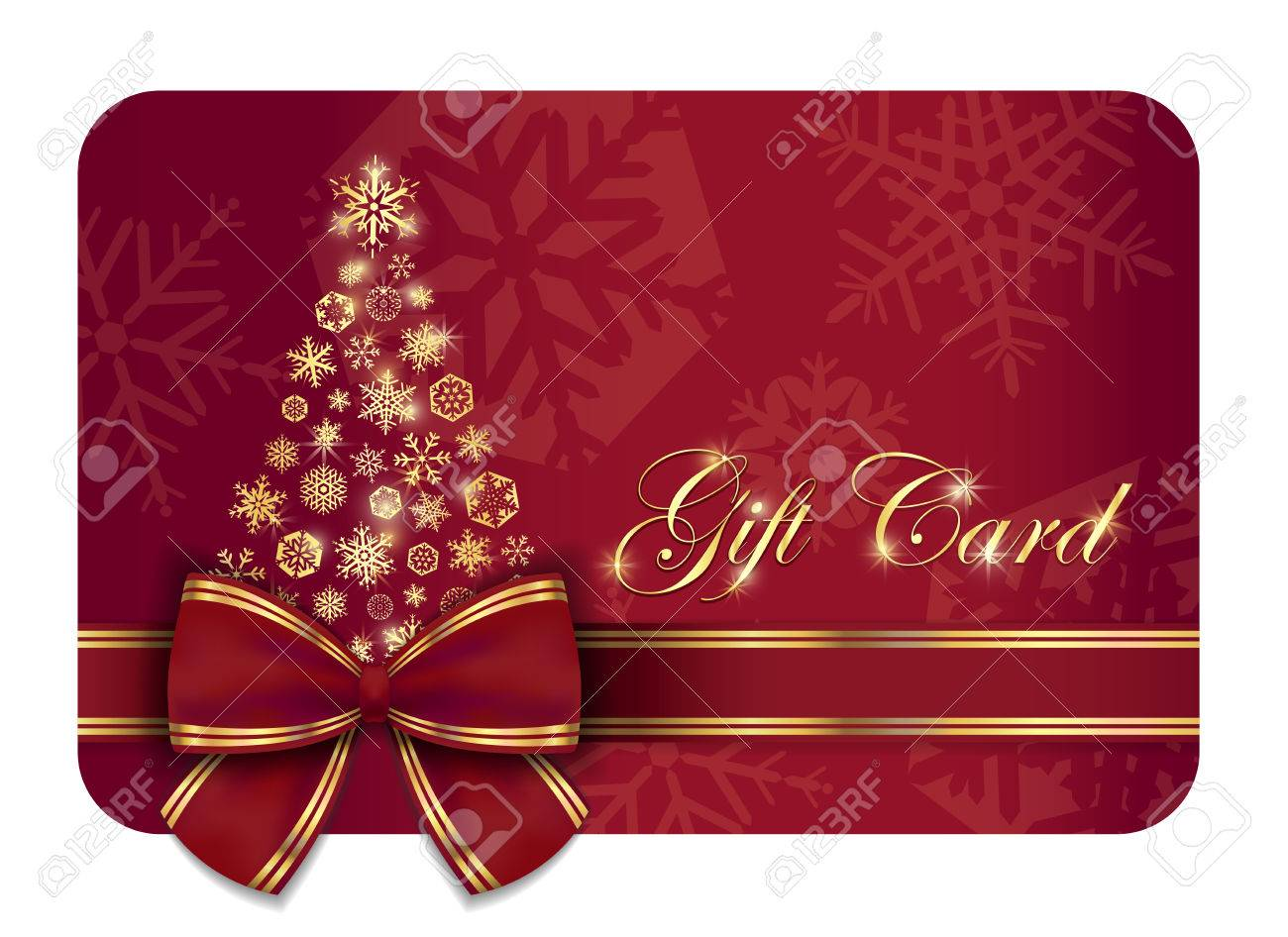christmas gift card images