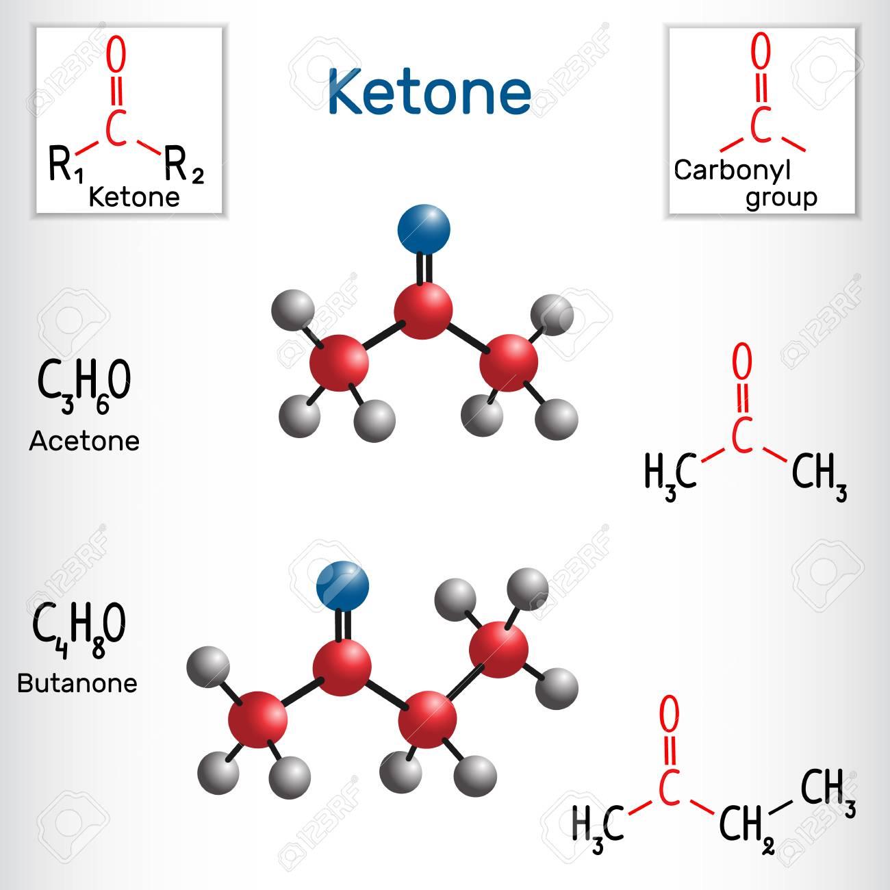 Ketone (alkanone)  Acetone and butanone ( methyl ethyl ketone)