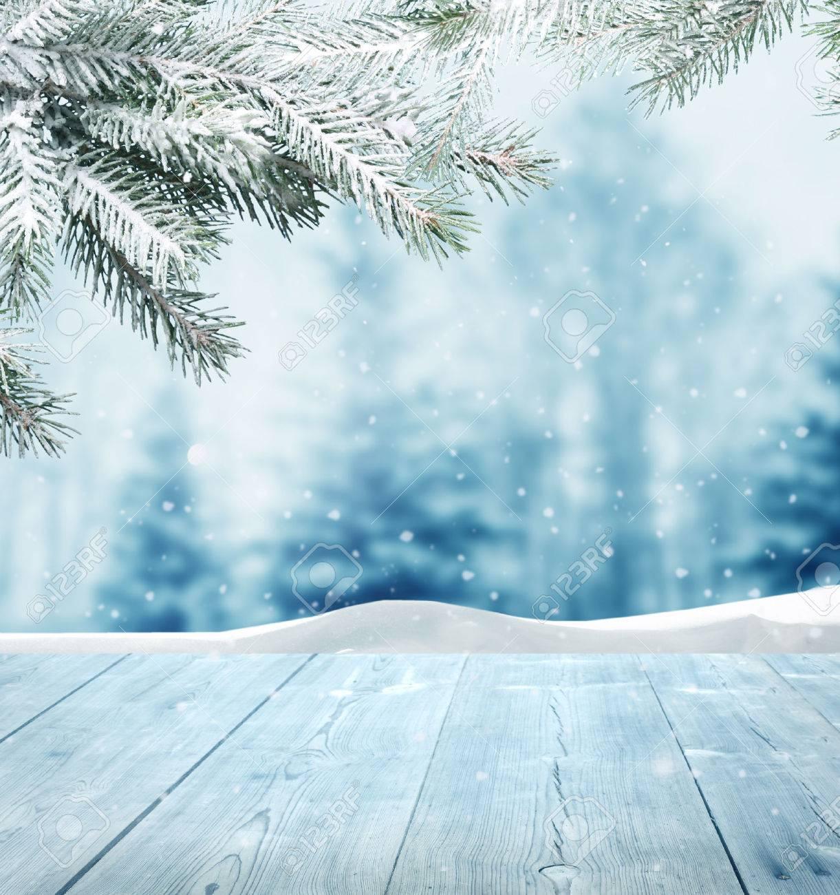 winter background Stock Photo - 23860808
