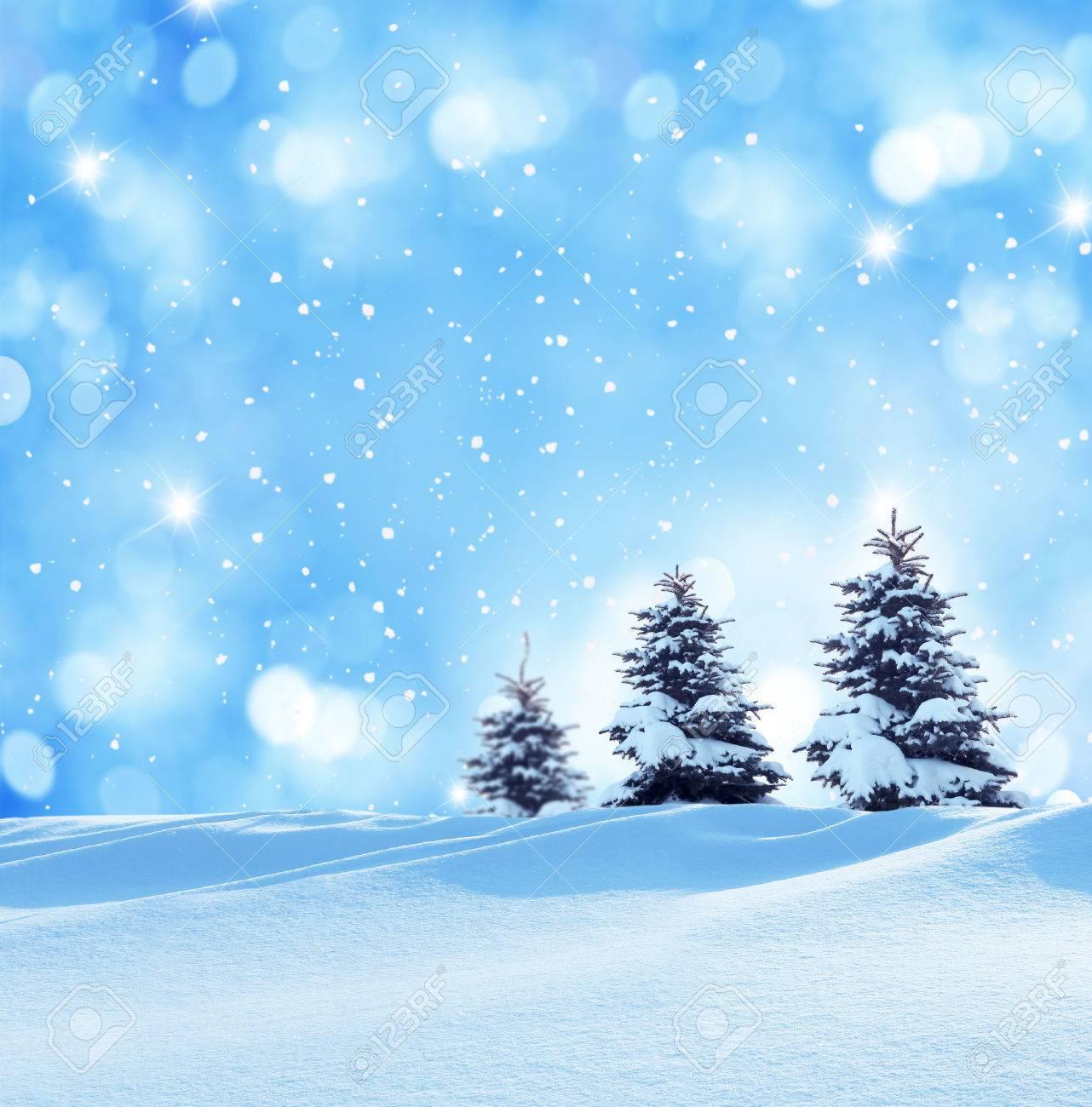 winter christmas landscape - 33971743