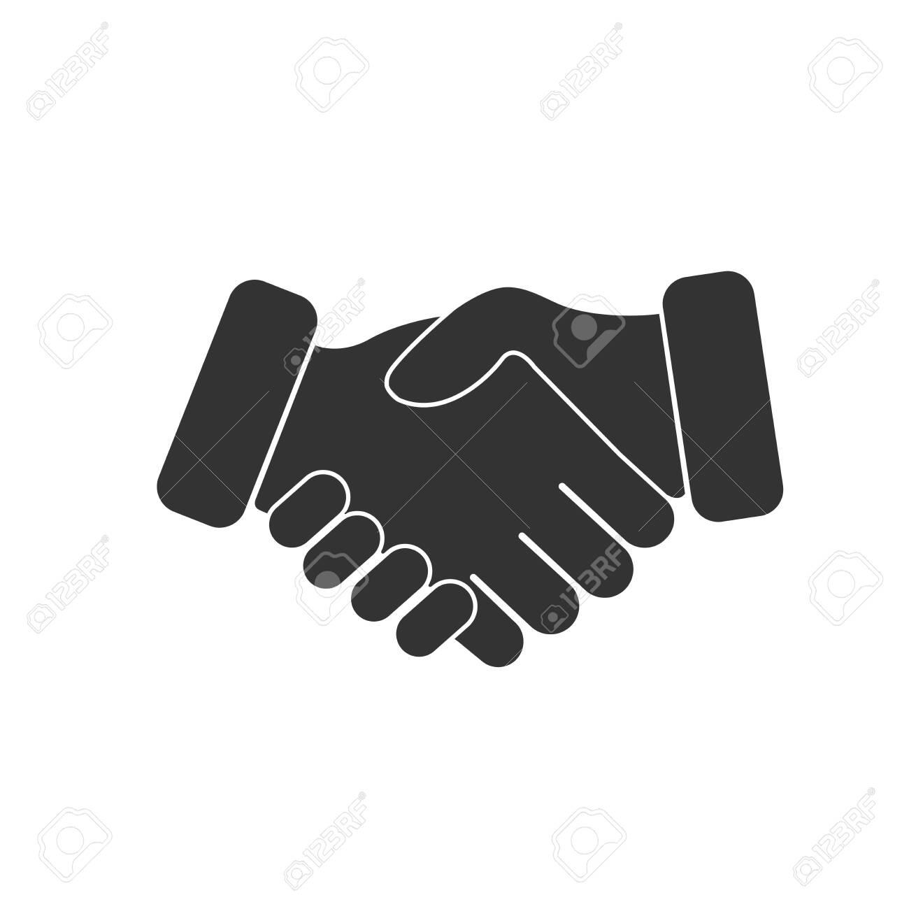 Handshake Friendship Icon Pictogram Symbol - 151412601