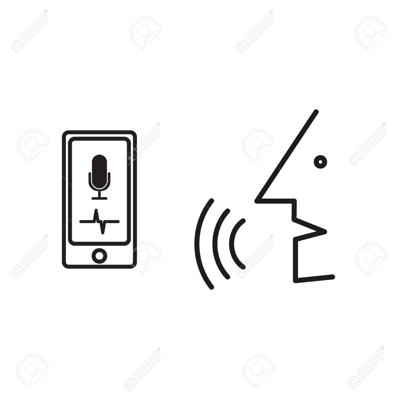 Digital generated smartphone with intelligent personal voice