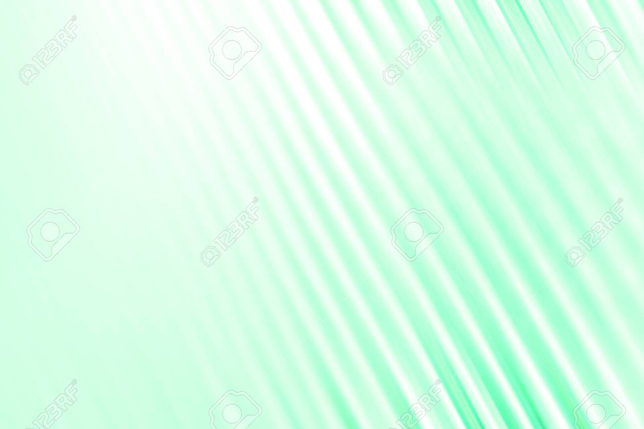background with colored lines, abstract colored background, colored wavy lines on monochrome turquoise. place for text. A completely new template for your business design. - 130597517