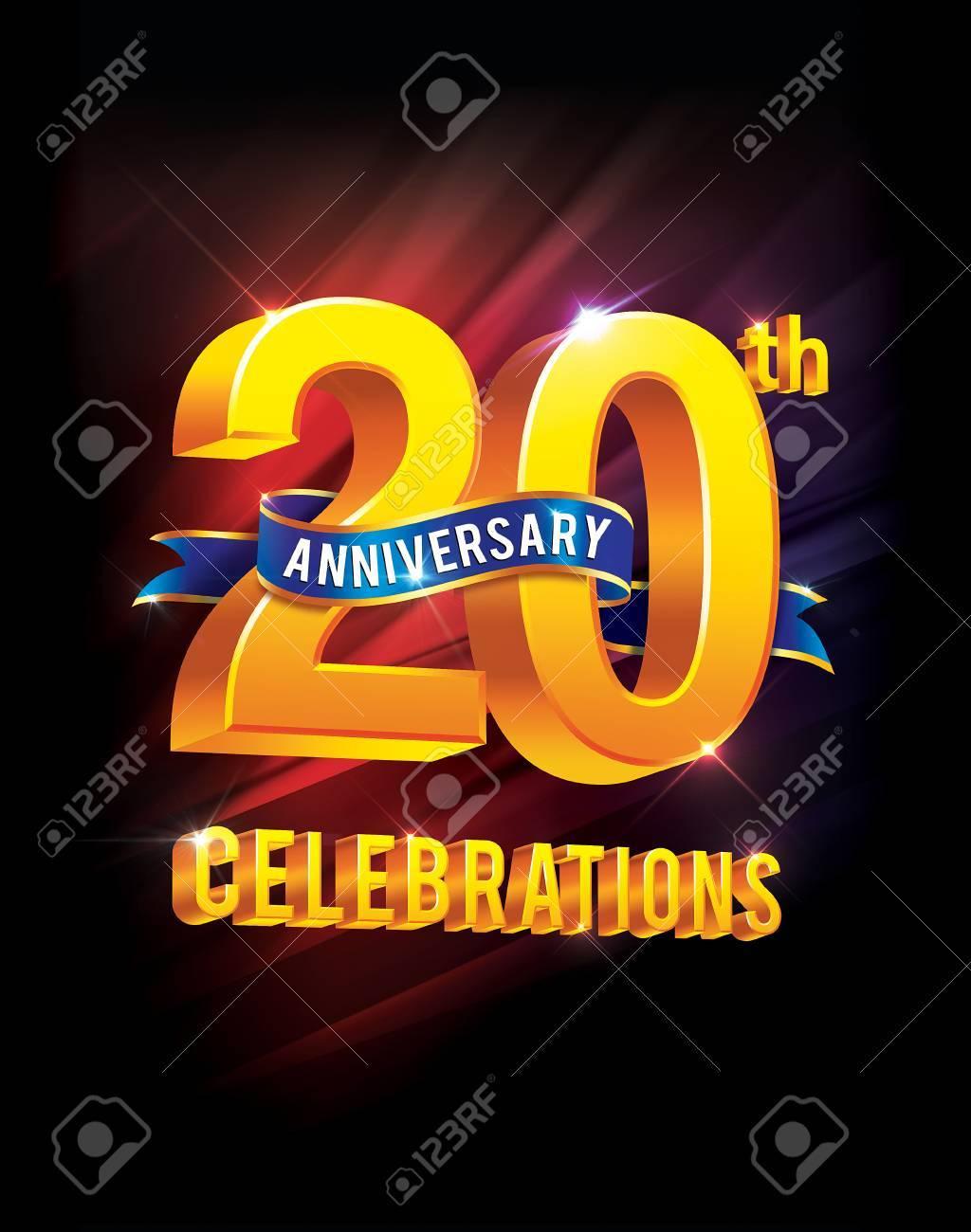 20 Jahriges Jubilaum Feiern Lizenzfreie Fotos Bilder Und Stock