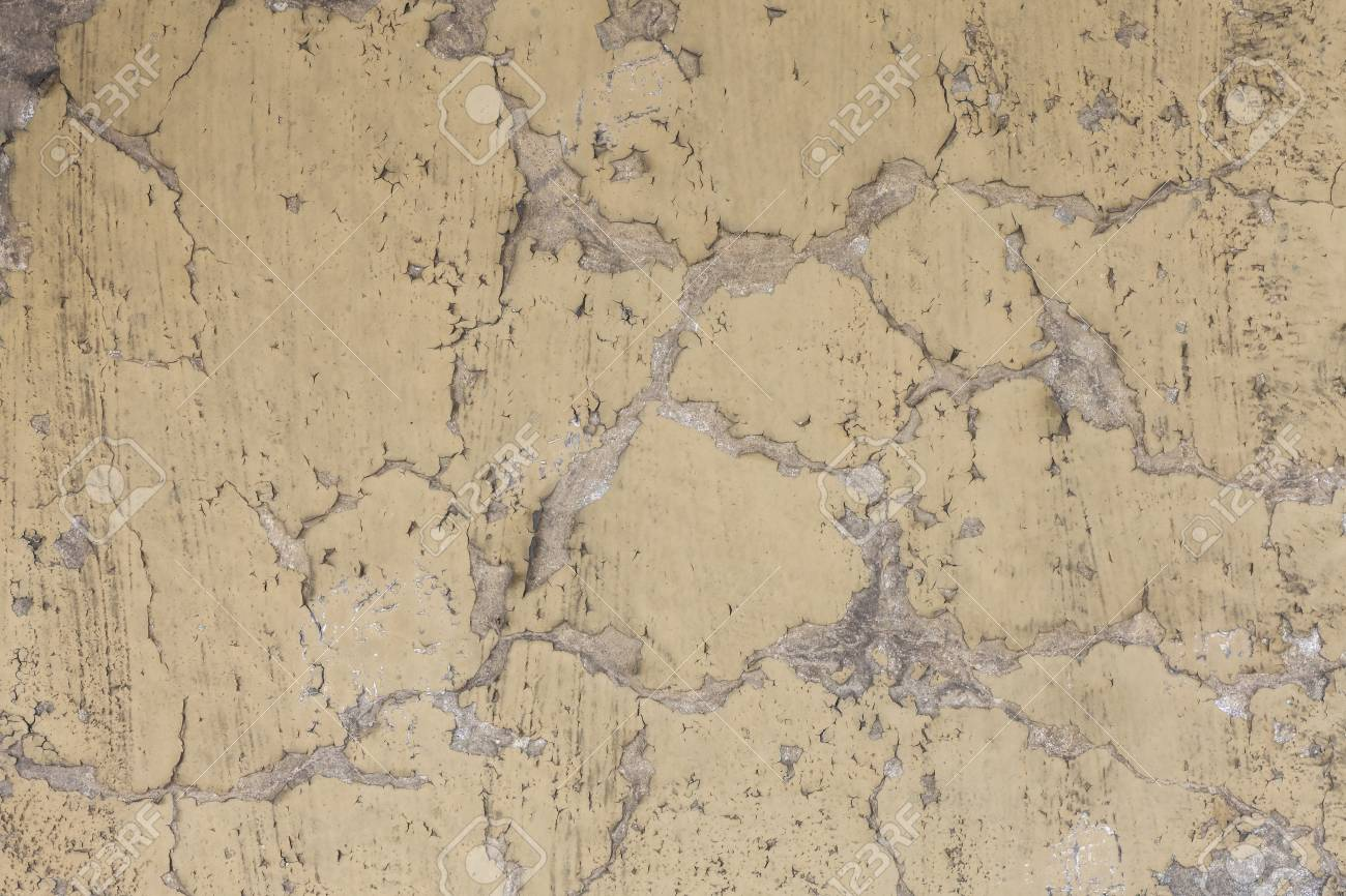 old wall paint pattern on the concrete wall stock photo picture