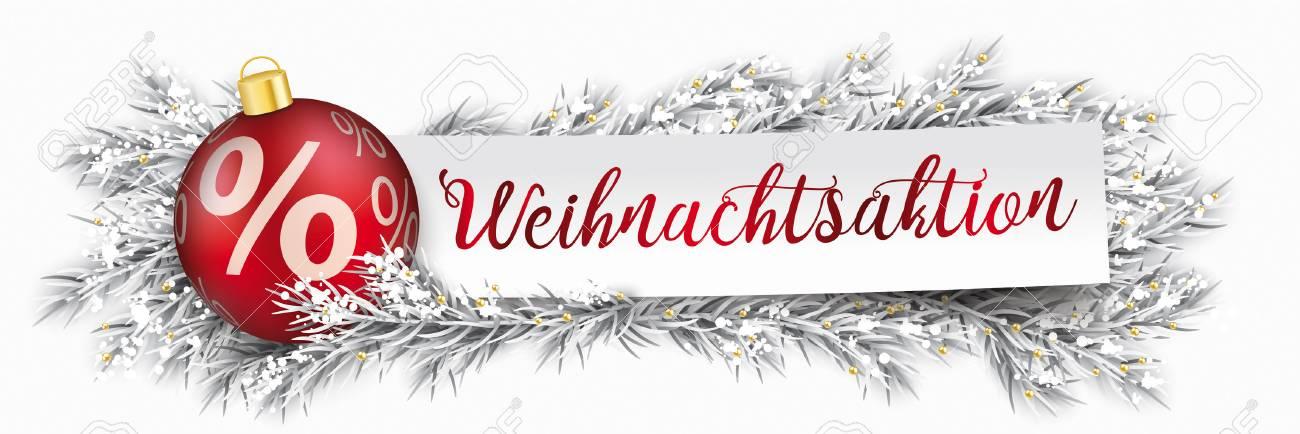 Deutscher Text Weihnachtsaktion, übersetzen Weihnachtsverkauf ...
