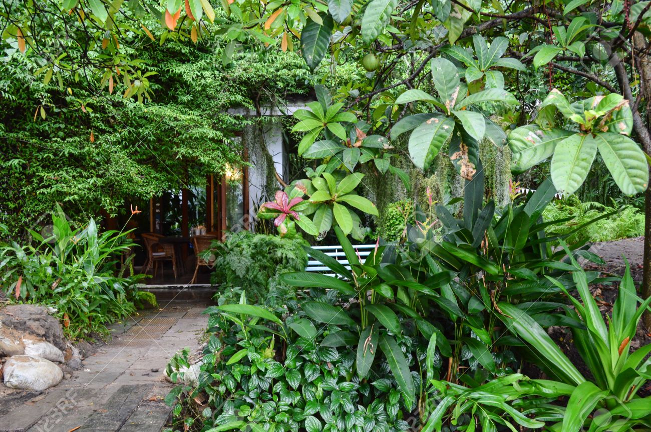 Enjoyable Small House In Very Beautiful Garden In Countryside Of Thailand Largest Home Design Picture Inspirations Pitcheantrous