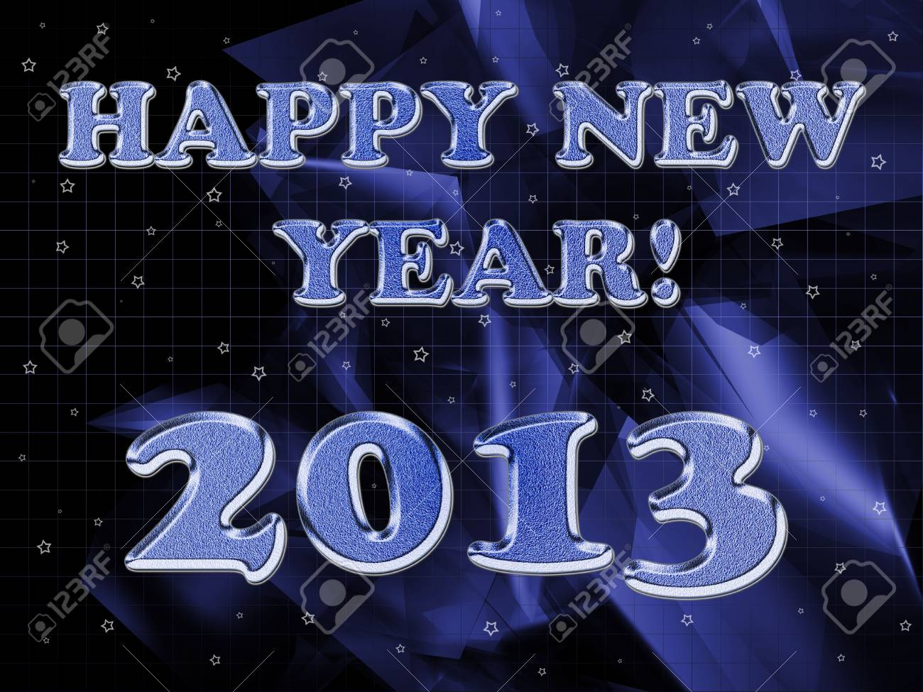 2013 year inscription on the abstract background Stock Photo - 14566183