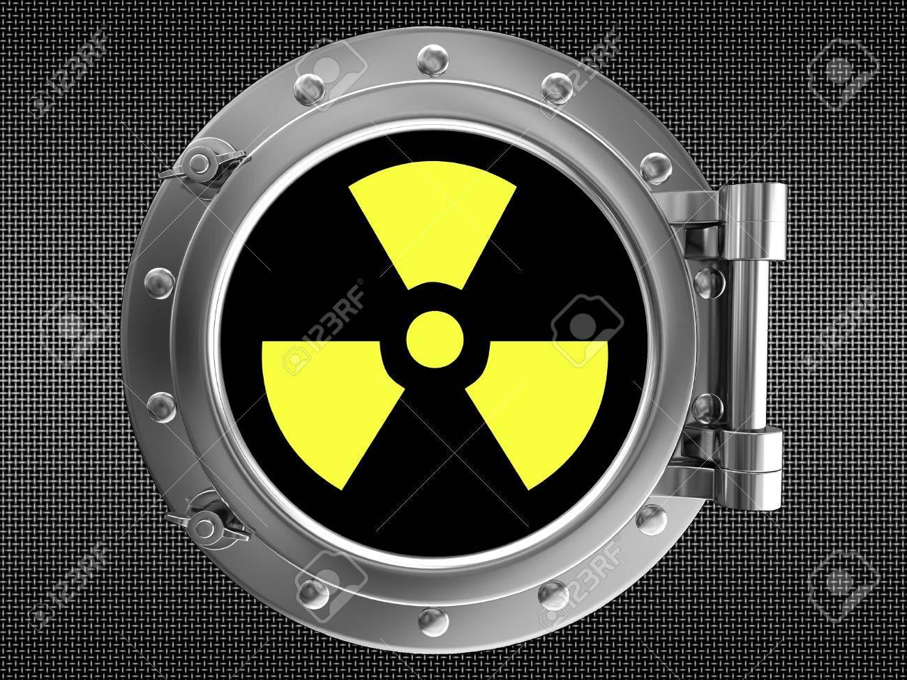 Sign of radiation Stock Photo - 18734572