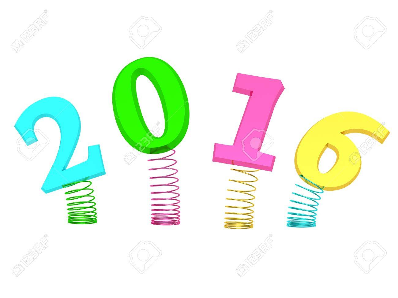 Frohes Neues Jahr 2016! (Happy New Year 2016!) Stock Photo - Image ...