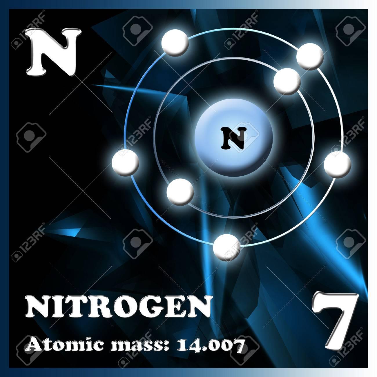El nitrgeno elemento en la tabla peridica de mendeleev fotos el nitrgeno elemento en la tabla peridica de mendeleev foto de archivo 50418744 urtaz Choice Image