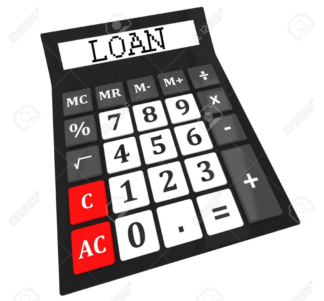 calculateur de prêt banque d images et photos libres de droits