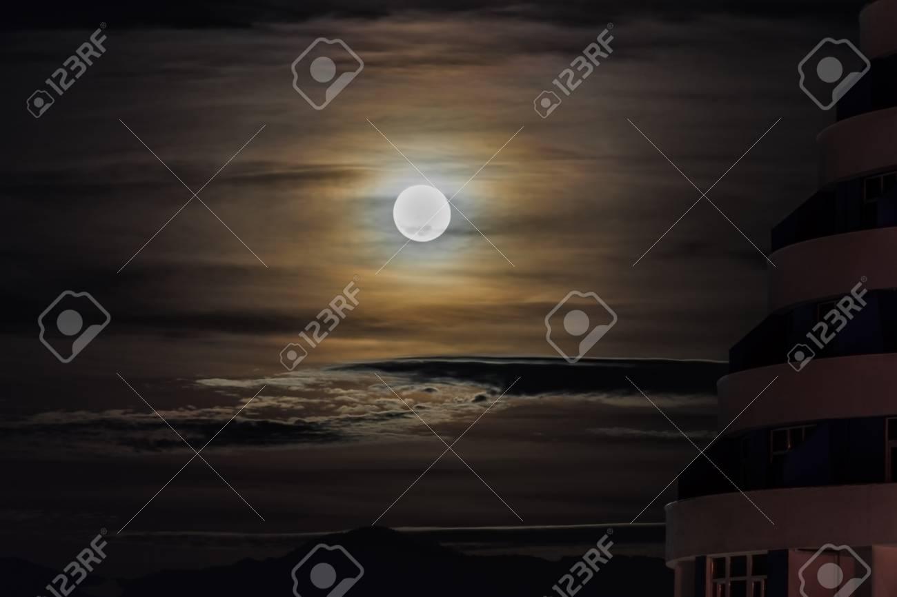Shining Moon Rises