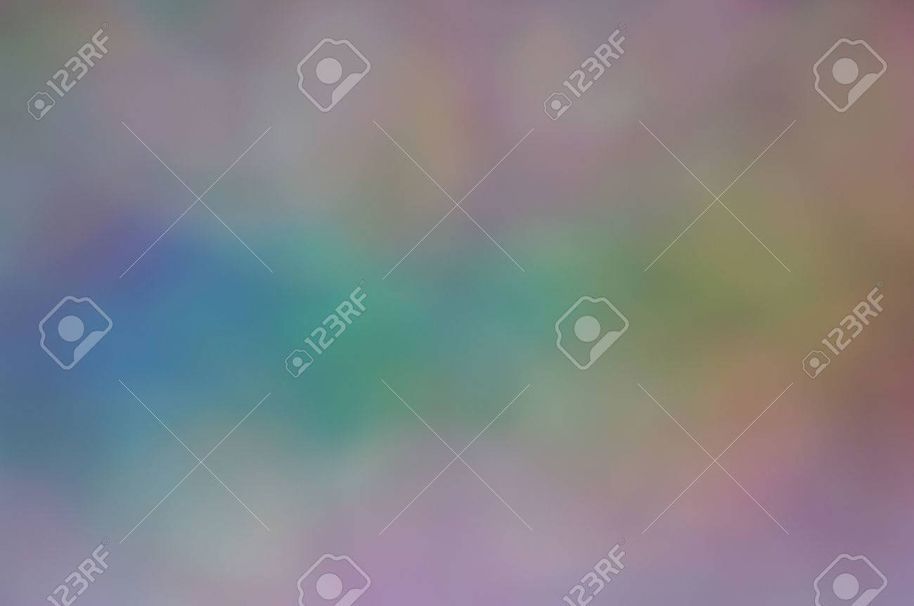 Soft Bokeh With Pastel Rainbow Colours For Background Screen Or Wallpaper Suitable Text Copy