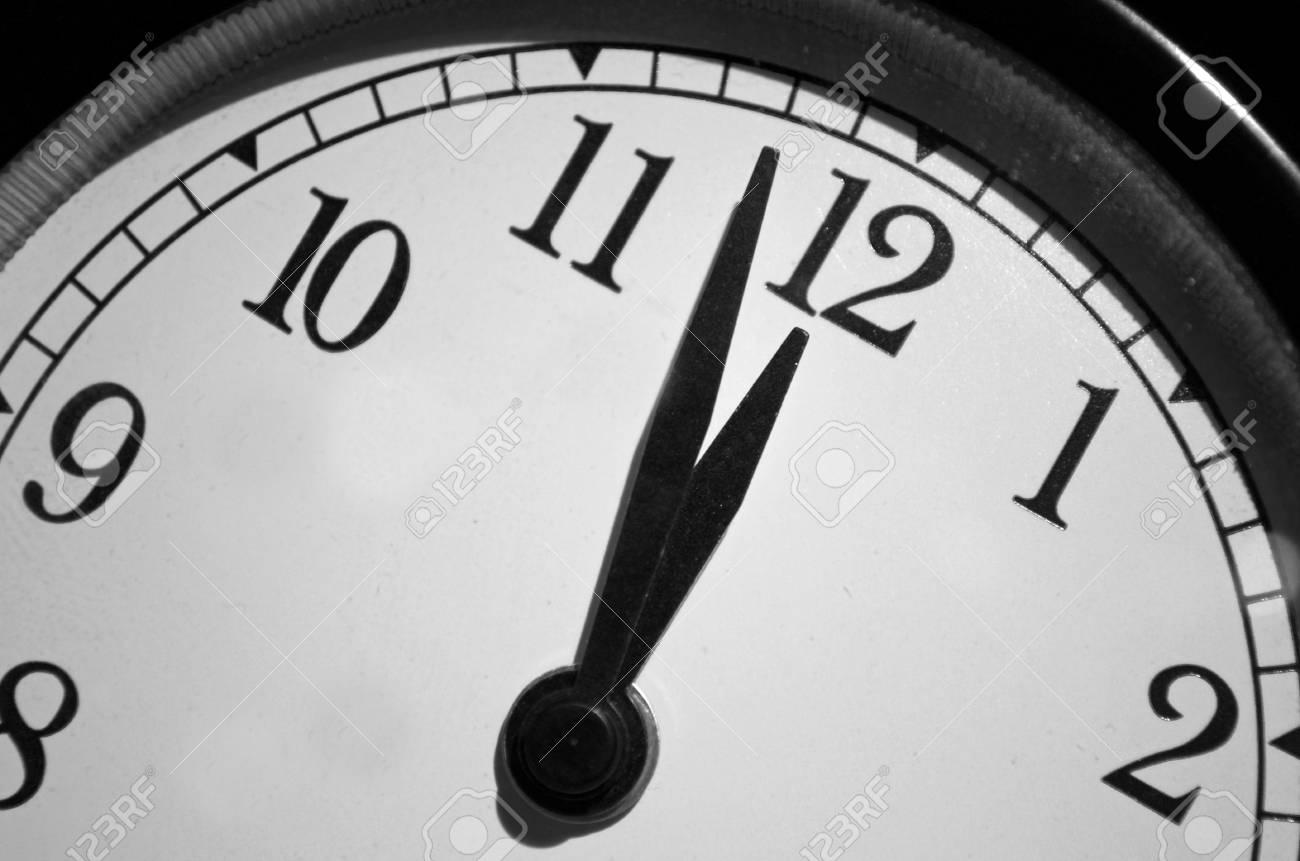 Image result for midnight clock