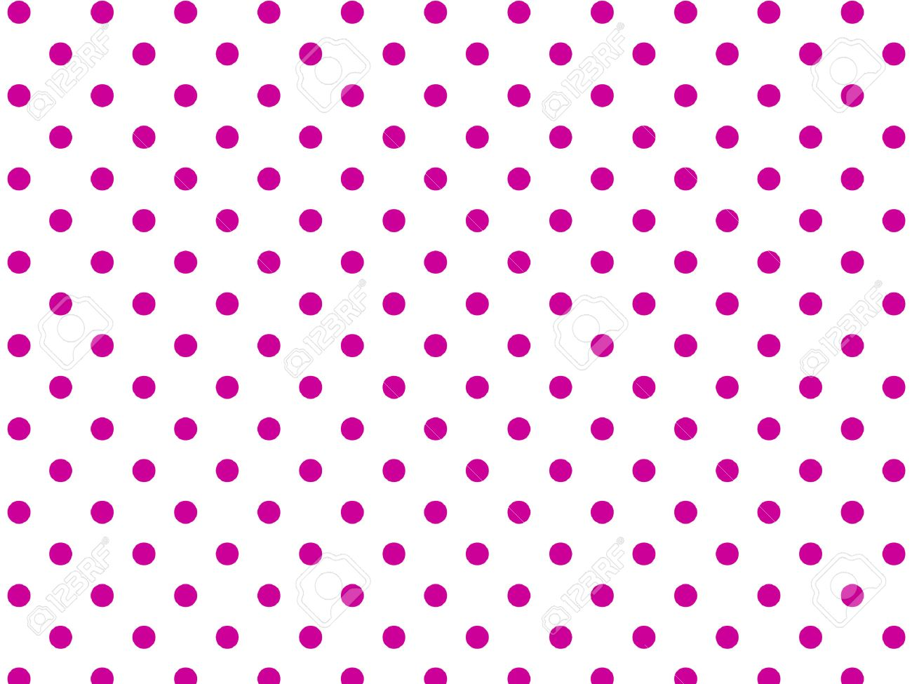 White background with pink polka dots (eps8) - 7359884