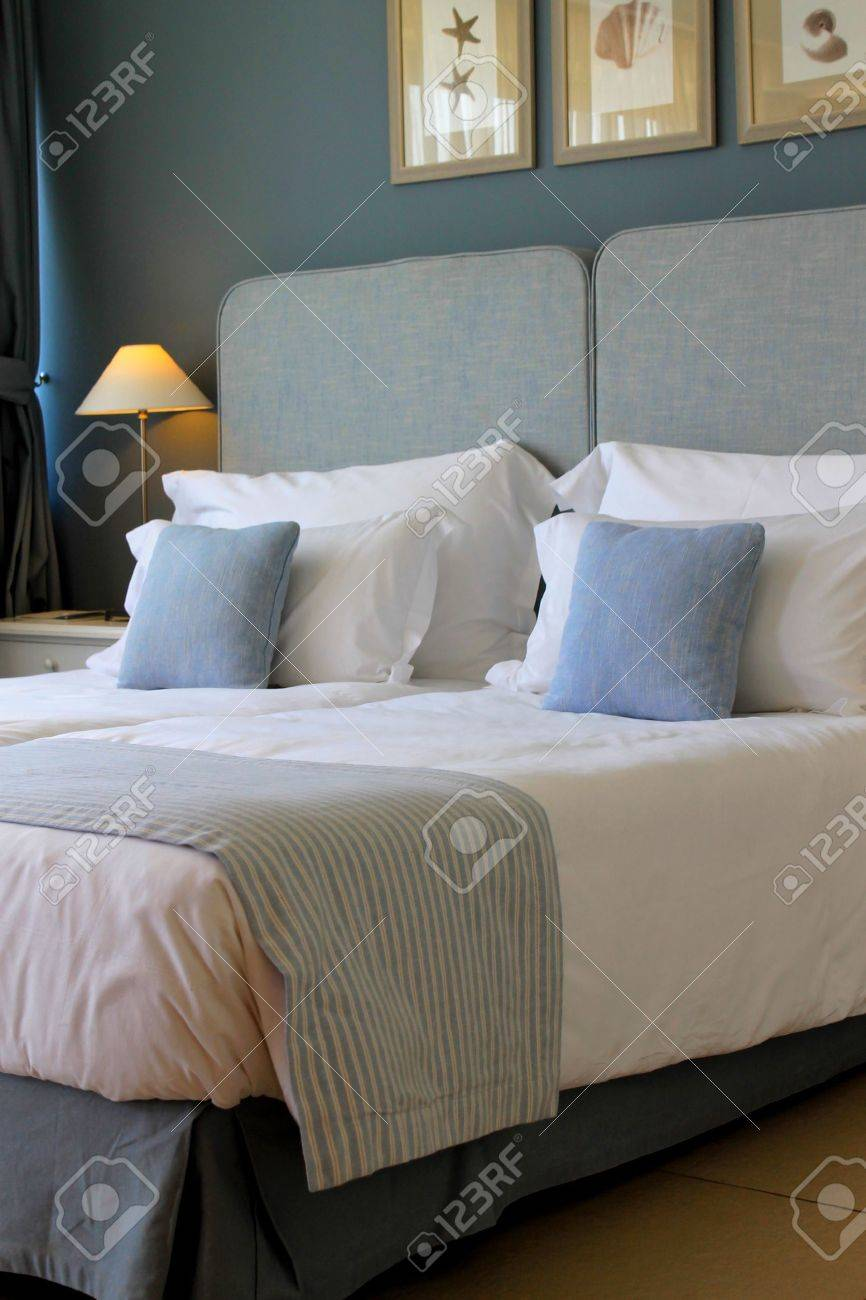 bedroom style in pastel colours Stock Photo - 15249228